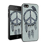 Colored Drawing Fashion Style Protection Shell for iPhone5/5s -Maiya-M11269