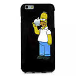 Character Pattern TPU Soft Case for iPhone 6 Plus