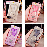 The Rabbit Strap Support TPU Shell Meng for iPhone 5/5S(Assorted Colors)