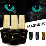 Azure 3 Pcs/Lot 3D Nail UV Gel Polish Cat Eye Color Soak Off Nail Gel Polish Kit (#90+#91+#95)