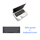 Sliver Slim PalmGuard and TPU Keyboard Cover for Macbook Air 11.6