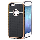 Latest Gentleman Polka Dot TPU + PC Combo Phone Case for iPhone 6 (Assorted Colors)