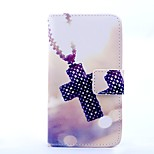 Magic Spider®Cross Pattern PU Full Body Case Stand with Screen Protector for Sony Z3 MINI