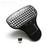 2 in 1 Mini Palm-sized 2.4G Wireless Keyboard and Mouse Combo with Touchpad for Google Android TV BOX Smart  PC