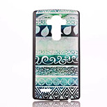 Green Decoration Pattern PC Phone Case for LG G4