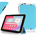 IVSO  LG G pad 10.1 Ultra-Thin Slim Smart Cover Case with Auto Sleep/Wake Function for LG G pad 10.1 Tablet (Blue)