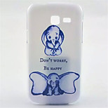 Dumbo Pattern PC Hard Case for Samsung Galaxy Trend Lite S7390/S7392