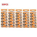 COMSAN 394 AG9 L936 LR45 High Capacity Button  Batteries (50PCS)