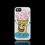 hielo crema patrón duro para el iphone 5 caso para el iphone 5 s