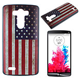 American Flag Pattern PC Phone Case for LG G3