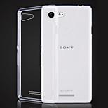 Transparent TPU Soft Case for Sony Xperia E3 (Assorted Colors)