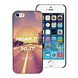 sognare e non progettare custodia rigida per iPhone 4 / 4S