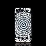 azteco copertura del modello mandala fiore per il caso di iphone 4 per il iphone 4s
