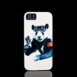 panda patroon dekking voor iphone 4 / iphone 4 s case