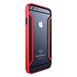 ivso super grens serie hoge kwaliteit geval is met duidelijke screen protector voor iPhone 6 plus 5.5 inch telefoon (rood)