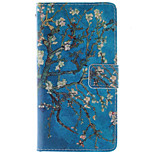 Fashion Design COCO FUN® Blue Tree Pattern PU Leather Wallet Case Cover for LG G3