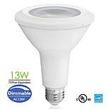 E26 13W 800lm COB LED PAR Lamp Long Neck PAR30 75watt Equivalent Dimmable Sofe/ Natural/Cool White AC120V