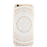 Big Round Flower Pattern Hard Back Case for iPhone 6