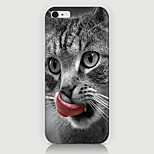 The Tongue lick the cat Pattern Case Back Cover for Phone6 Case