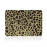 High Quality Fashion Leopard Print Flip PVC Full Body Hard Case Cover for Macbook Retina 15.4 inch