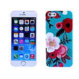 Morning Glory Pattern TPU And IMD Soft Case for iPhone 6