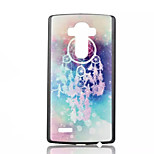 Campanula Pattern PC Material Phone Case for LG G4