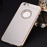 Special Design Diamond Mirror Back Cover for iPhone 6 Plus (Assorted Colors)