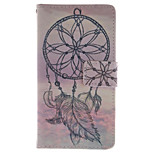 Fashion Design COCO FUN® Sunset Wind-Bell Pattern Wallet Slot Full Body PU Leather Case for Samsung Galaxy S4 I9500