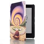 Caso del modello lumaca cuoio dell'unità di elaborazione da 6 pollici con fibbia magnetica per Amazon Kindle voyage