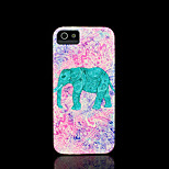 Elephant Pattern Cover for iPhone 4 Case / iPhone 4 S Case