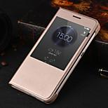 pelle originale pu auto-sonno astuto caso corpo pieno per Huawei onore 4x (colori assortiti)