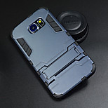 Iron Man Hard Case Protective Cover with Kickstand for Samsung Galaxy S6