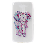 Elephant Pattern TPU Material  Phone Case for LG G3