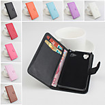 Protective PU Leather Magnetic Vertical Flip Case for Wiko Fizz(Assorted Colors)