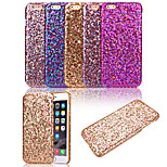KARZEA™Luxury Bling Glitter Sparkle Pattern PU Stick A Skin Back Cover Case for iPhone 6 Plus (Assorted Colors)