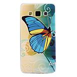 motif papillon matériau TPU cas de téléphone souple pour samsung galaxy a5