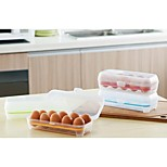 Transparent Flip Egg Storage Crisper(Random Color)