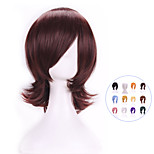 Hot Sale New Stylish Harajuku Anime Cosplay Wigs Heat Resistant Young Short Colors Synthetic Hair Wig