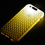 Call LED Blink Transparent TPU Combo Back Cover Case For iPhone 6(Assorted Colors)