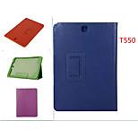 litchi grain leder gevallen met standaard automatische slaap / waak voor Samsung Galaxy Tab een 9,7 (verschillende kleuren)
