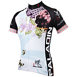 PaladinSport Women Short Sleeve Cycling Jersey New Style Clove DX543 100% Polyester