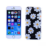 Chrysanthemum Pattern TPU And IMD Soft Case for iPhone 5/5S
