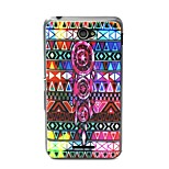 Tribal Symbols Pattern TPU Material Phone Case And Screen Protector for Sony Xperia E4