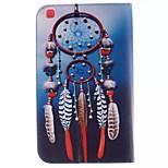 ballenbak foto pu leer full body TPU geval is met kaarthouder voor Samsung Galaxy T310 / tab 3