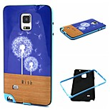 Fashion Design COCO FUN® Dandelion Hope Pattern Soft TPU Back Case Cover for Samsung Galaxy Note 4