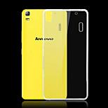 Black Pomelo® Transparent Light TPU Case for Lenovo K3 Note/K50-T5