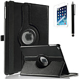 iPad Air compatible 360 Degree Rotating 100% PU Leather Back Case Full Body Case with Screen protector and Touch Pen