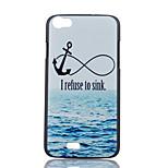 padrão de âncora de mar pintada caso de telefone PC para Wiko lenny