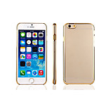 Iphone 6/6S ultra-slim gold/silver plating PC cover
