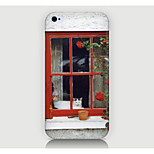 The Window Scenery Pattern Case Back Cover for Phone4/4S Case